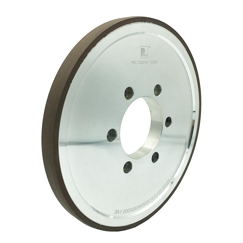 普瑞思 3A1树脂砂轮 磁性材料粗磨半精磨精磨抛光陶瓷玻璃硬质合金砂轮