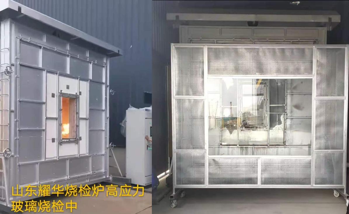 防火玻璃烧检炉,防火玻璃检测炉